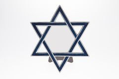 Star of David Picture Frame Royalty Free Stock Images