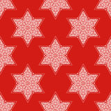 Star of David seamless pattern Royalty Free Stock Photo