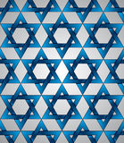 Star of David seamless pattern. Stock Images