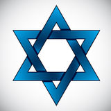 Star of David. Stock Photography