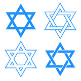 Star of david symbol Royalty Free Stock Image