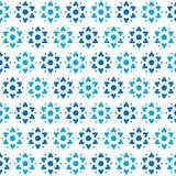 Star of David Vector Seamless Pattern Royalty Free Stock Image