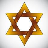 Star of David. Royalty Free Stock Image