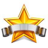 Star de cinéma Images stock