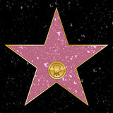 Star de Hollywood Photo libre de droits