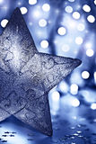 Star decoration, Christmas tree ornament Stock Images