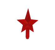 Star. The star of decoration for festive tree tops Royalty Free Stock Photos