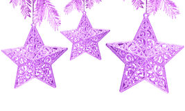 Star decoration on white Stock Photo