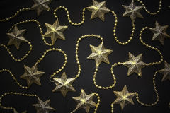 Star decorations background Stock Photo