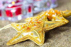 Star decorations for Christmas Royalty Free Stock Photography