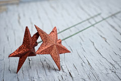 Star decorations Stock Photos