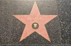 Star del Dr. Seuss en la caminata de Hollywood de la fama fotos de archivo libres de regalías