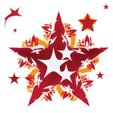 Star design, vector illustration Stock Photo