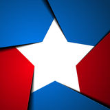 Star. Detailed illustration of a stylized patriotic star background royalty free illustration