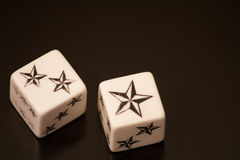 Star Dice Stock Photography
