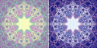 Star doily.  Background seamless. Royalty Free Stock Photo