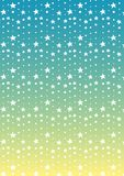 Star and dot line tropical abstract background Royalty Free Stock Photos