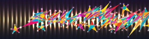 Star draw tail banner RGB