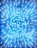 Star Stars Blue Background royalty free stock photography