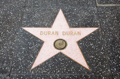 The  star of  Duran Duran Stock Photo