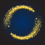 Star dust circle vector Royalty Free Stock Photography