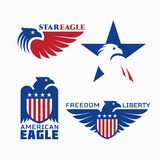 Star Eagle Stock Image