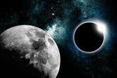 Star Eclipse Stock Photography