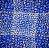 Star el fondo azul Fotografía de archivo
