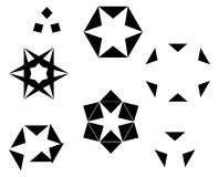 Star elements Stock Image