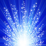 Star explosion Royalty Free Stock Images