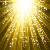 Star explosion Royalty Free Stock Image