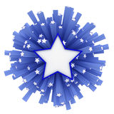Star explosion Royalty Free Stock Photography