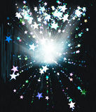 Star explosion Stock Image