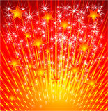 Star Explosion Background Stock Photo