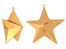 Star fat isolated Stock Images