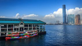 Star Ferry at Central stock photo