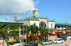 Star Ferry Central Pier, Hong Kong Island Royalty Free Stock Photos