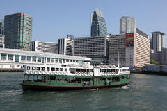 Star ferry, Hong Kong Royalty Free Stock Photo