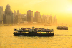 Star ferry Royalty Free Stock Photography