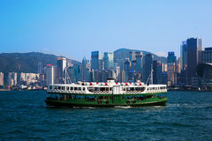 Star Ferry, Hong Kong Royalty Free Stock Images