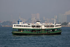 Star Ferry in Hong Kong Stock Image