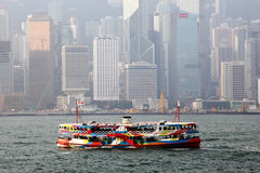 Star Ferry in Hong Kong Royalty Free Stock Images