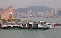 Star Ferry terminal Royalty Free Stock Image