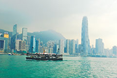 Star Ferry of Victoria harbour Royalty Free Stock Photography