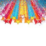 Star festival. Star decoration for festival background Stock Images