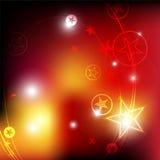 Star festival background. Illustration design Royalty Free Stock Images