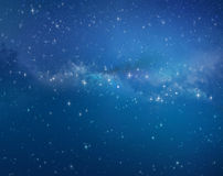 Star field background Stock Image