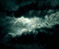 Star field and nebula. Stock Photos