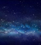 Star field in deep space Stock Photo