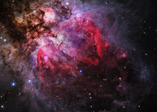 Star field in  deep space. Many light years far from the Earth Stock Images